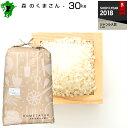 熊本県森のくまさん玄米30kg白米27kg/お米/熊本県産