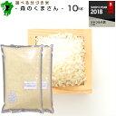送料無料!熊本県産森のくまさん白米から玄米10kg(5kg×2) /お米/熊本県産/こめたつ