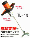【友定建機】ハンドミキサーTL-13(2速+無段変速)モルタル用かくはん機