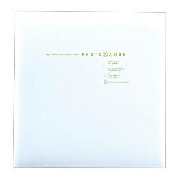 フエルアルバム白フリー台紙20枚フォトレンジ(ホワイト)20L-92-W