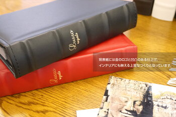 ナカバヤシ背丸ブック式ポケットアルバムLUSSOregalo(ルッソレガーロ)L判2段/160枚LUBPL-160#103#