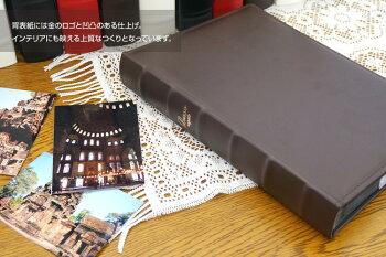 ナカバヤシ背丸ブック式ポケットアルバムLUSSOregalo(ルッソレガーロ)L判3段/240枚LUBPL-240#103#