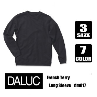 D'Arc French Terry Long Sleeve フレンチテリー trainer ( sheer )