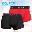 EXIO エクシオ ボクサーブリーフ ローライズ ボクサーパンツ 全8カラー
