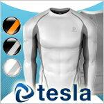 【TESLA】テスラ高機能アンダーウェアラウンドネック長袖