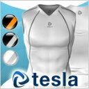 [TESLA] High-performance underwear V neck padded vest