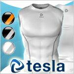 【TESLA】テスラ高機能アンダーウェアラウンドネック袖なし