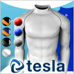 Tesla high-performance underwear turtle neck long sleeve