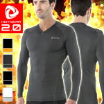 Underwear V neck long sleeve