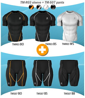 High-performance underwear round neck short sleeve (top and bottom set or on two cards)