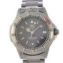 タグホイヤー メンズ腕時計 プロフェッショナル WF1211-K0 TAG HEUER 文字盤グレー クオーツ SS 【中古】【送料無料】