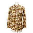 ステューシー メンズシャツ メンズ STUSSY 黄色チェック Lサイズ 【中古】