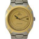 【中古】オメガ シーマスターポラリス メンズ 腕時計 クオーツ ステンレススチール×YG 文字盤ゴールド 396.1022 OMEGA [送料無料]