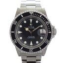 チュードル 腕時計 サブマリーナ 76100 TUDOR タコサブ 自動巻き 黒文字盤 メンズ ヴィンテージ 【中古】【送料無料】