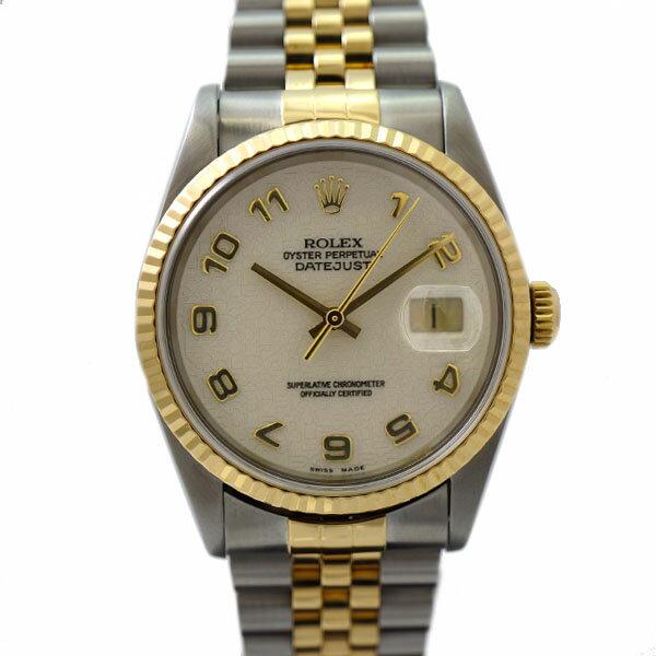 ロレックス 腕時計 デイトジャスト 16233 ROLEX P番 コンピュータ文字盤 メンズ 自動巻き 【】【送料無料】 [腕時計][メンズ][男性][][送料無料]定番が好きだけど、人とはちょっと違う物が良い!な方にピッタリ!
