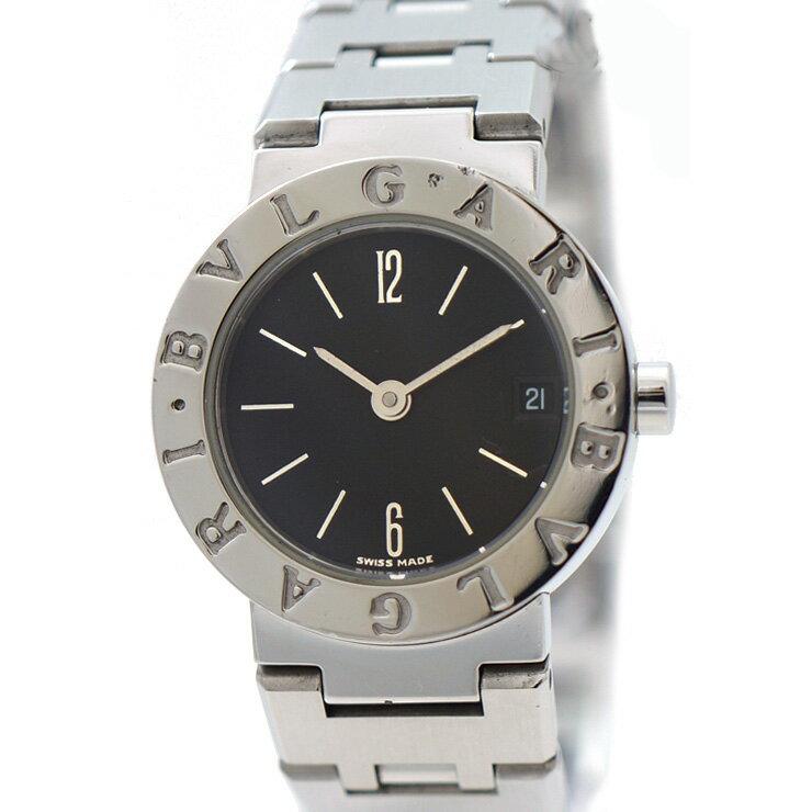 ブルガリ 腕時計 ブルガリブルガリ BB23SS BVLGARI クォーツ レディース ブラック 人気 【】【送料無料】 [女性][レディース][SS][黒][クォーツ]人気モデルブルガリブルガリ。シンプルで洗練されたデザインはどの場面でもご利用いただけます。