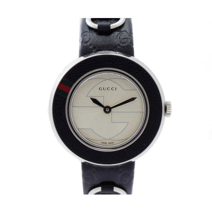 GUCCI/グッチ/Uプレイ/クォーツ/腕時計/YA129515/レディース/替えベゼル・ベルト付  【】【送料無料】 [時計][レディース][女性][SS]替えベルト&ベゼルがついているので、その日の気分によって変えられます。