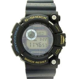 カシオ メンズ腕時計 ジーショック フロッグマン GW-200TC CASIO G-SHOCK トリプルクラウン ソーラー ブラック×ネイビー【中古】【送料無料】