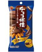 ブルボン■チョコ柿種■10袋入り 箱買い 大人買い