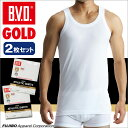 B.V.D.GOLD 2枚セット ランニング(5L)【BVD直営】/ギフト/メンズ 【コンビニ受取対応商品】