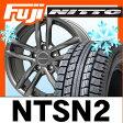 【送料無料 VW(ポロ)】 NITTO ニットー NTSN2(限定) 185/60R15 15インチ スタッドレスタイヤ ホイール4本セット 輸入車 EUROTECH ユーロテック ガヤ5(マットチタニウム) 6J 6.00-15
