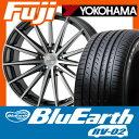 【送料無料】 YOKOHAMA ヨコハマ ブルーアース RV-02 SALE 245/40R19 19インチ サマータイヤ ホイール4本セット