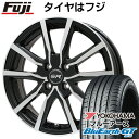 185/60R15 15インチ BRANDLE ブランドル N52BP 5.5J 5.50-15 YOKOHAMA ヨコハマ ブルーアース GT AE51 サマータイヤ ホイール4本セット