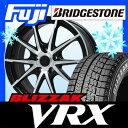 【送料無料】 BRIDGESTONE ブリヂストン ブリザック VRX 215/65R16 16インチ スタッドレスタイヤ ホイール4本セット BRANDLE ブランドル 039B 6.5J 6.50-16