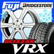【送料無料】 BRIDGESTONE ブリヂストン ブリザック VRX 215/50R18 18インチ スタッドレスタイヤ ホイール4本セット MANARAY ユーロエディション スタイル6 7.5J 7.50-18