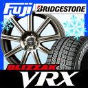 【送料無料】 BRIDGESTONE ブリヂストン ブリザック VRX 235/50R18 18インチ スタッドレスタイヤ ホイール4本セット A-TECH ファイナルスピード ゼファー 8.5J 8.50-18