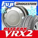 【送料無料】 BRIDGESTONE ブリヂストン ブリザック VRX2 155/65R13 13インチ スタッドレスタイヤ ホイール4本セット ELBE エルベ オリジナル スチール 4J 4.00-13