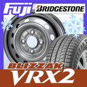【送料無料】 BRIDGESTONE ブリヂストン ブリザック VRX2 145/80R13 13インチ スタッドレスタイヤ ホイール4本セット ELBE エルベ オリジナル スチール020 4J 4.00-13