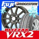 【送料無料】 BRIDGESTONE ブリヂストン ブリザック VRX2 165/65R13 13インチ スタッドレスタイヤ ホイール4本セット BRANDLE ブランドル 565Z 4J 4.00-13