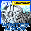 【送料無料】 DUNLOP ダンロップ ウィンターMAXX 01 175/60R16 16インチ スタッドレスタイヤ ホイール4本セット BRANDLE ブランドル TI 5.5J 5.50-16