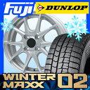 【送料無料】 DUNLOP ダンロップ ウィンターMAXX 02 WM02 185/70R14 14インチ スタッドレスタイヤ ホイール4本セット BRANDLE ブランドル 039 5.5J 5.50-14
