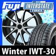 【送料無料】 INTERSTATE インターステート ウインターIWT-30(限定) 185/60R15 15インチ スタッドレスタイヤ ホイール4本セット BRANDLE ブランドル 039B 6J 6.00-15