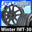 【送料無料】 INTERSTATE インターステート ウインターIWT-30(限定) 215/60R16 16インチ スタッドレスタイヤ ホイール4本セット BRANDLE ブランドル M61B 6.5J 6.50-16