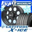 【送料無料】 MICHELIN ミシュラン ラティチュードX-ICE XI2 265/70R16 16インチ スタッドレスタイヤ ホイール4本セット MICKEY-T ミッキートンプソン クラシック3 ブラック 8J 8.00-16