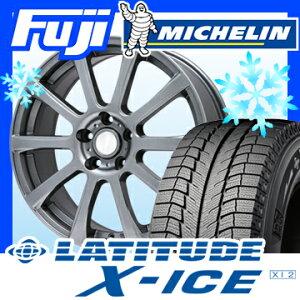 ������̵����MICHELIN�ߥ������ƥ����塼��X-ICEXI2235/55R1818����������åɥ쥹������ۥ�����4�ܥ��å�BRANDLE�֥��ɥ�565T7.5J7.50-18