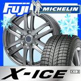 ��3000�ݥ�����оݡۡ�����̵���� 215/60R17 17����� MICHELIN �ߥ����� X-ICE XI3(����) �����åɥ쥹������ �ۥ�����4�ܥ��å� BRANDLE �֥��ɥ� G61 7J 7.00-17��michelin_win��