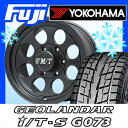 【送料無料】 YOKOHAMA ヨコハマ ジオランダー I/T-S G073 LT 285/75R16 16インチ スタッドレスタイヤ ホイール4本セット MICKEY-T ミッキートンプソン クラシック3 ブラック 8J 8.00-16