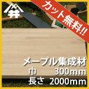 【カット無料!】自作スピーカーやスピーカースタンドに人気の木材。メープル集成材 サイズ:厚み25mm
