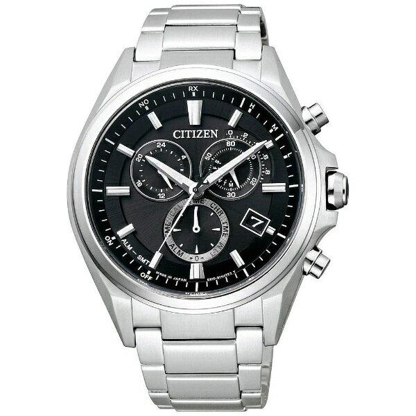 CITIZENシチズン腕時計ソーラー電波時計アテッサAT3050-51E