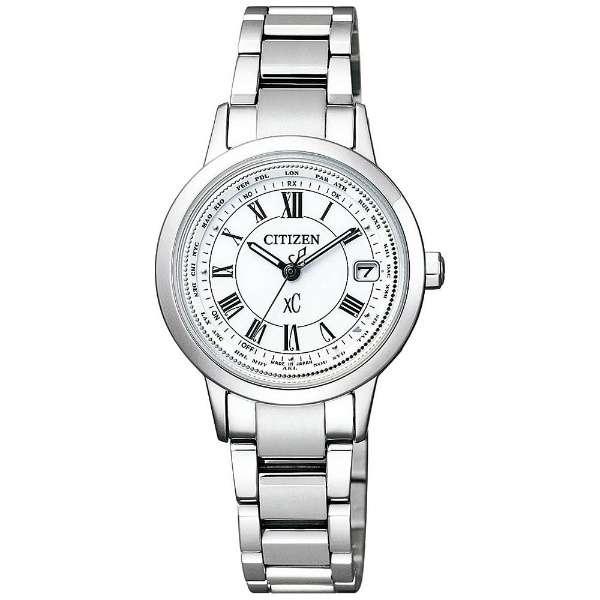 CITIZENシチズン腕時計 XCクロスシーティタニア ライン ハッピーフライトモデル ソーラー電波時計EC1140-51A