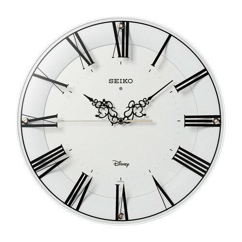 SEIKO セイコー 電波掛け時計 ディズニー ミッキー&ミニー FS506W