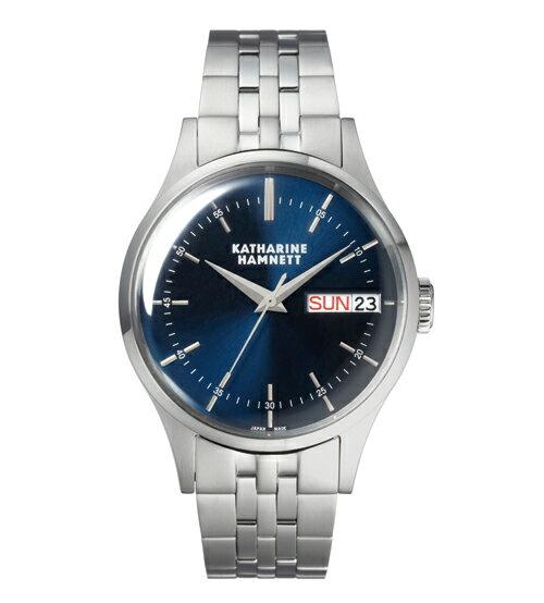 キャサリン ハムネット 腕時計 メンズKH20G5-B64 セイコー デジタル 電波 腕時計