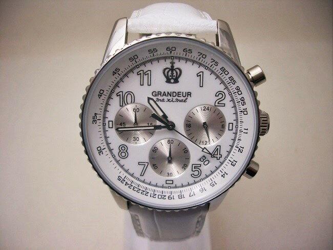 送料無料グランドールGRANDEUR腕時計OSC028W4