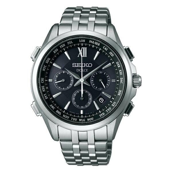 SEIKO セイコー腕時計 ソーラー電波時計 ドルチェフライトエキスパートSADA037
