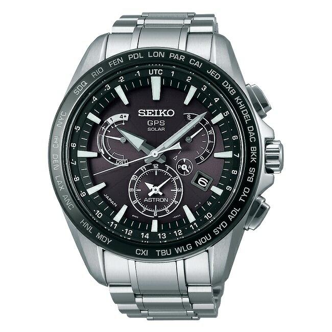 SEIKO ASTRONセイコー腕時計 アストロン8Xシリーズ デュアルタイム ステンレススチールモデル GPS衛星電波時計SBXB077