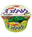 ミニわかめラーメン ごま・しょうゆ 38g 1ケース(12個入)【エースコック カップラーメン まとめ買い】